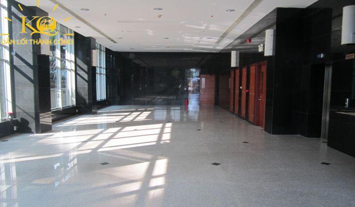 diện tích tầng trệt của tòa nhà