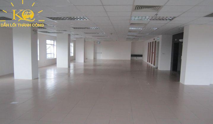 diện tích trống một sàn trong tòa nhà.